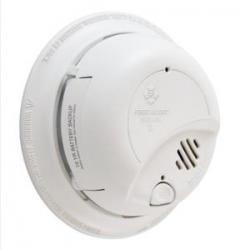 120V AC/DC SMOKE ALARM - 10YR LITHIUM BATTERY - LOCKED BATTERY DRAWER