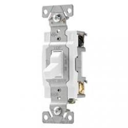 SWITCH TOGGLE DP 20A 120/277V SWIRE WH
