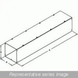 STRAIGHT SECTION W/O KO - 12 X 12 X 48 - STEEL/GRAY