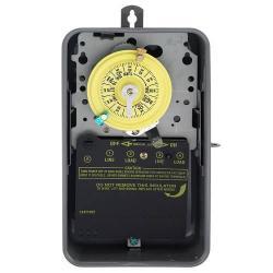 NEMA 3R - STEEL CASE 125 V SPST GRAY CASE