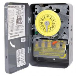 "NEMA 1 - 250 V DPST W/ EXTERNAL MANUAL OVERRIDE SWITCH""LITTLE GRAY BOX"""