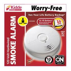 INTERCONNECT SMOKE ALARM W/BATTERY BACKUP