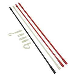 POLYMER FISH ROD SET WITH GLOW-IN-THE-DARK LEADERS