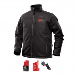M12 HEATED TOUGHSHELL JACKET KIT Black XXXL
