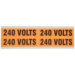(4)Volt Markers 240V (5 Pack)