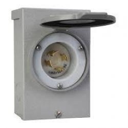 POWER INLET BOX  30A  125/250V (NEMA L14-30)