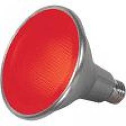 15 WATT PAR38 LED RED 40FT BEAM SPREAD MEDIUM BASE 120 VOLTS