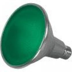 15 WATT PAR38 LED GREEN 40FT BEAM SPREAD MEDIUM BASE 120 VOLTS
