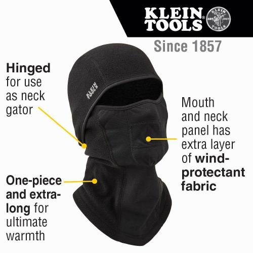 Wind Proof Hinged Balaclava